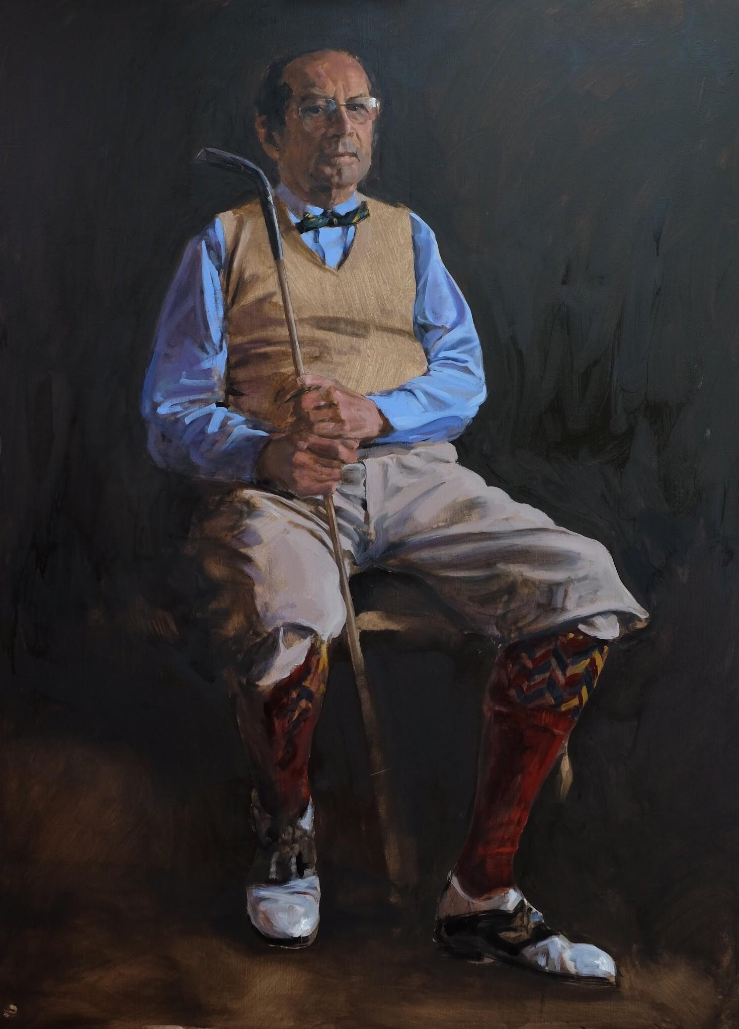 Portret dhr. P.
