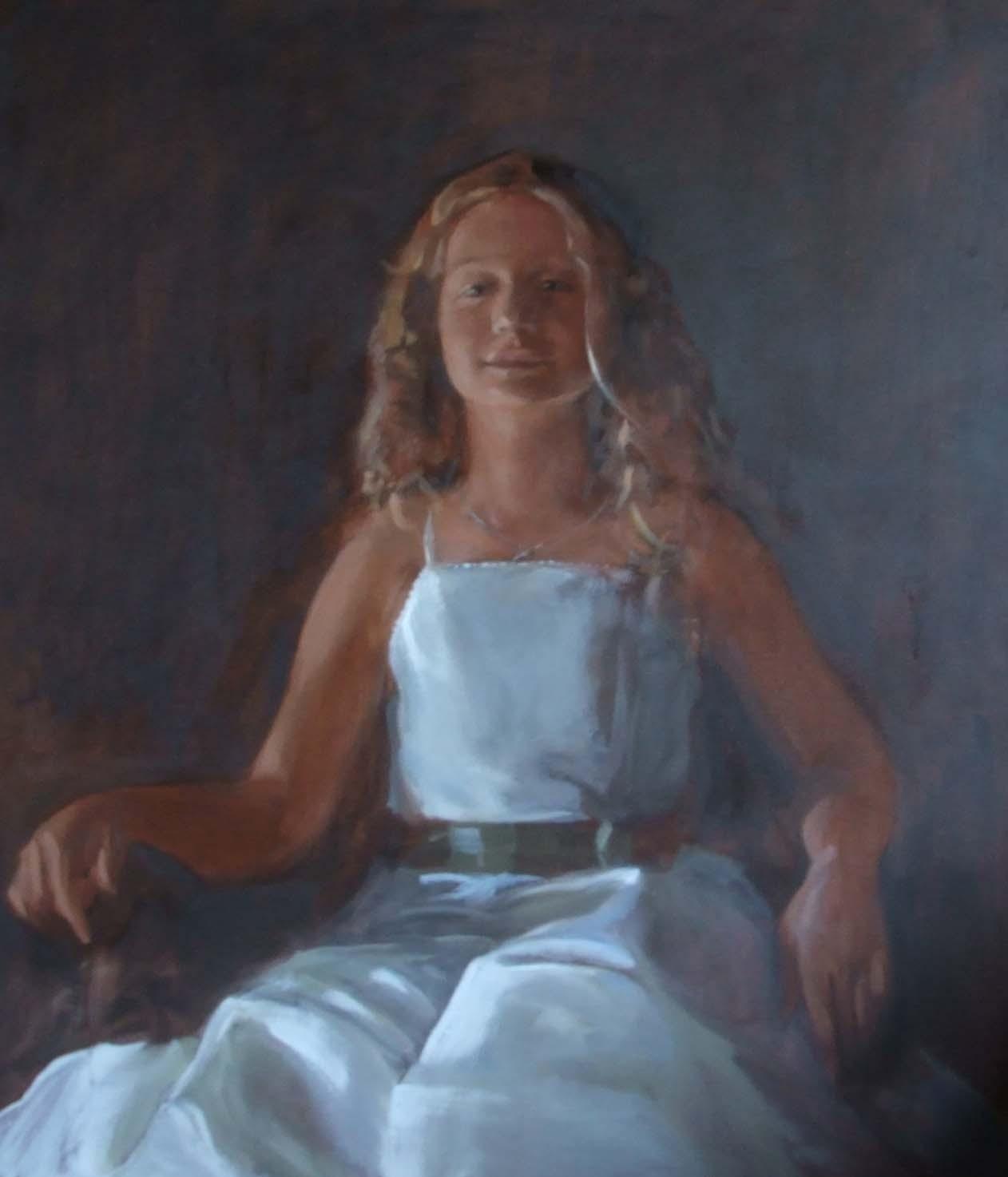 Portret van Esra